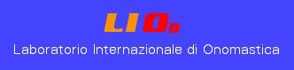 Laboratorio Internazionale di Onomastica